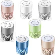 Горячие продажи мини-Портативный LED Bluetooth Динамик Беспроводной бас для смартфонов Планшеты PC 18jan17