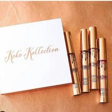 KOKO Kollection Lipstick Long lasting Lip Gloss lipgloss Christmas gift 4 pcs/set waterproof lip sticks matter liquid cosmetic
