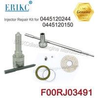 ERIKC fuel injector rebuild kit FOORJ03491 injektor Repair Kit Nozzle and valve DLLA150P1781 for injector 0445120244, 0445120150