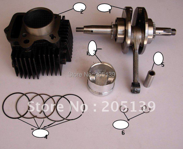 MOTOR LIFAN 125CC engine Cylinder body motorcycle MOTO motocross motocicleta dirt pit ATV atvs go kart karting quad BIKE parts стол стул для кормления пмдк октябренок полянка светлый дуб бук