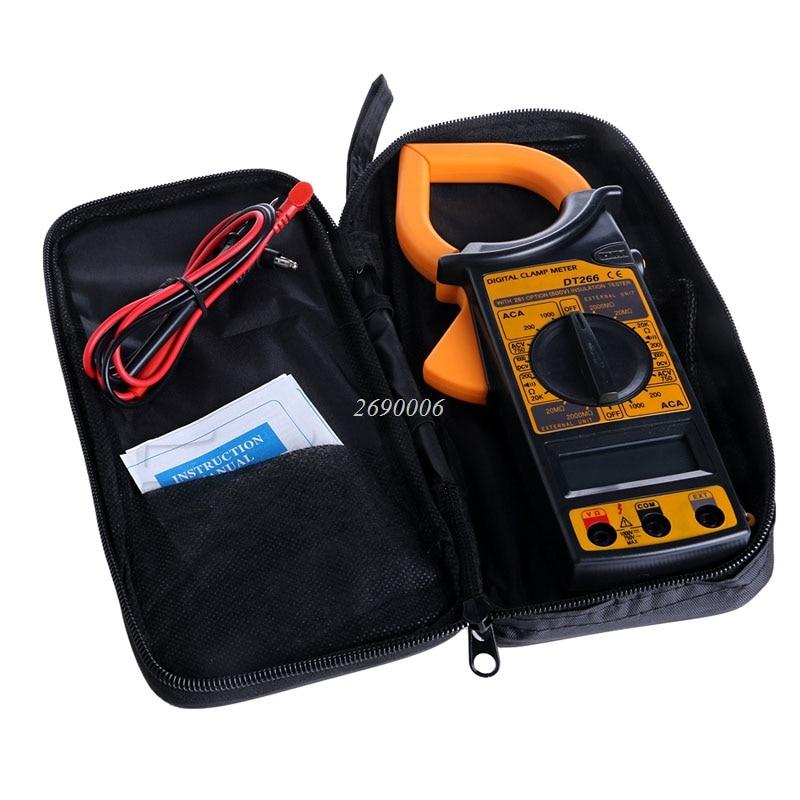 цена на Hot Digital Voltmeter Ammeter Ohmmeter Multimeter AC DC Volt Tester Clamp Meter A20585