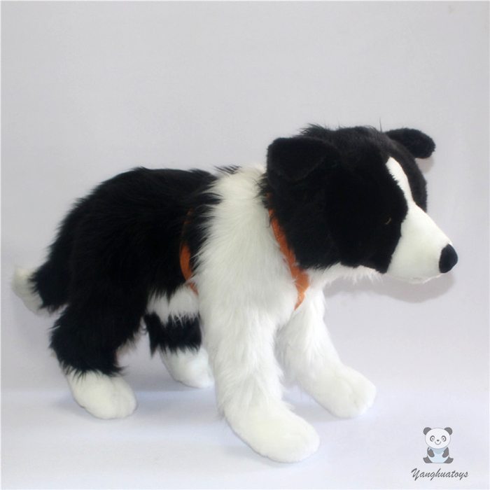 Big Plush Toy Gift  Stuffed Animal Kids Toys  Doll  Simulation Border Collie Pillow stuffed animal 115 cm plush simulation lying tiger toy doll great gift w114