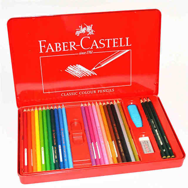 48Pcs/set Faber Castell Classic Oily Colour Pencils Fashion Pastille ...