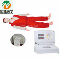 BIX/CPR480 Full Body CPR Training Model Medical Science Adult Electronic CPR Manikin