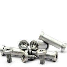 Shank Screws Plum Heads Flat T8 Handlebar Locking Rivets Handle Patch DIY 4pcs