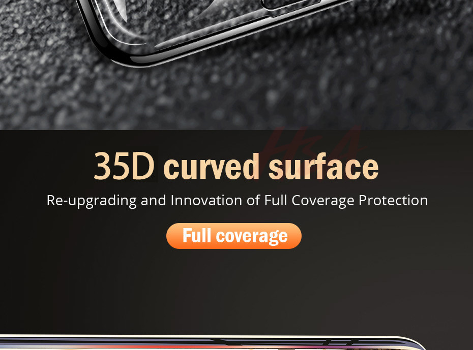 35D Curved Edge Tempered Screen iPhone Protective Glass 9