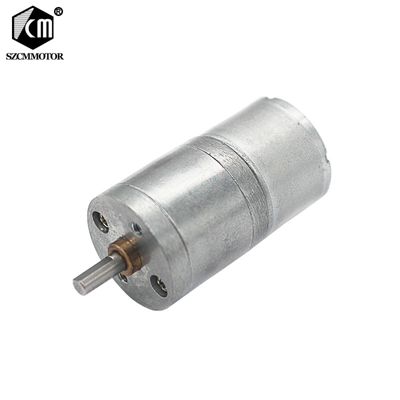 6volt micro gear motor no load speed:8 10 17 23 39 <font><b>50</b></font> 85 110 180 400 900 <font><b>RPM</b></font> decelerated motor JGA25-310 mini geared motor image