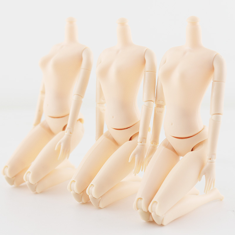 Movable Joints Female Doll Body 26cm 1//6 Naked Nude Body Princess Doll Toy