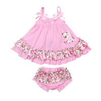 Newborn Baby Girl Clothes Summer Style Girl Dress Baby Clothing Set Cotton Carters Baby Girl T
