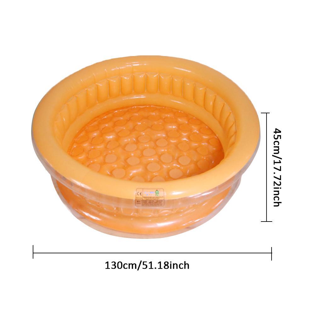 COPOZZ круглый Форма Детская воды надувной бассейн детский бассейн и новорожденных Портативный открытая детская Ванна
