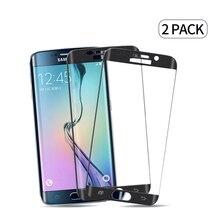 2pcsFor Samsung Galaxy s6 s7edge s6ep s7ep s8 s8p s9 s9p ochraniacz ekranu szkło hartowane do Samsung s6 2018 s7 chronić szkło 3D