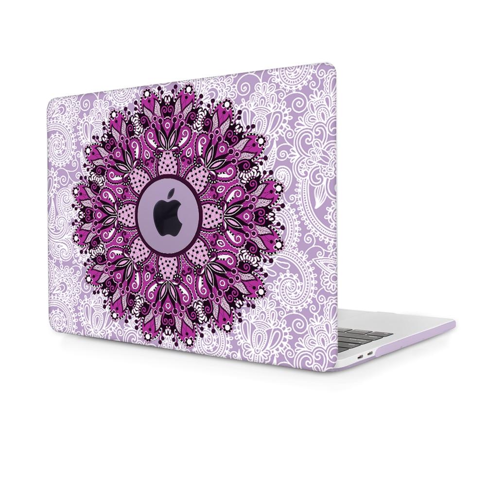 Redlai Mandala Nyomtatás Kemény Laptop tok Macbook Pro 13-hoz 15 w - Laptop kiegészítők - Fénykép 2