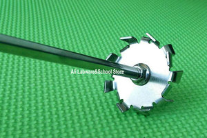 Image 2 - Дисперсионная пластина из нержавеющей стали, дисперсионная машина лезвие с агитирующим стержнем для перемешивания 1 шт.