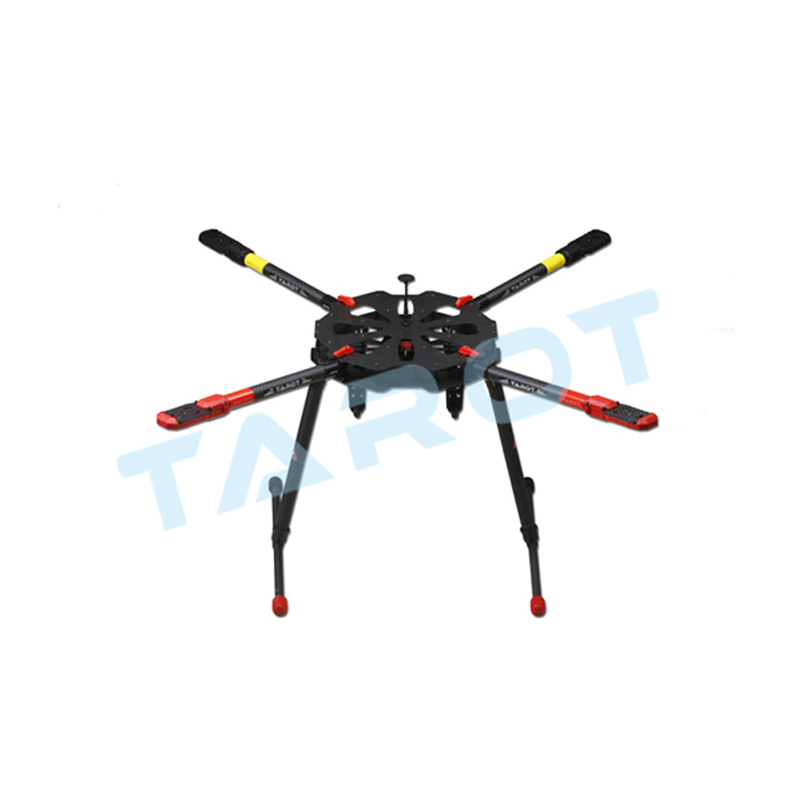 Tarot X4 Folding Quadcopter Frame Carbon Fiber Kit Rc Diy Drone Parts Set Accessories Professional Big Drones Fpv In From Toys