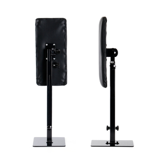 Image 5 - סטיגמה מתכוונן נייד משענת כבד החובה ברזל מקצועי רגל שאר Stand מחזיק קעקוע אקססוריז סוגר TA209