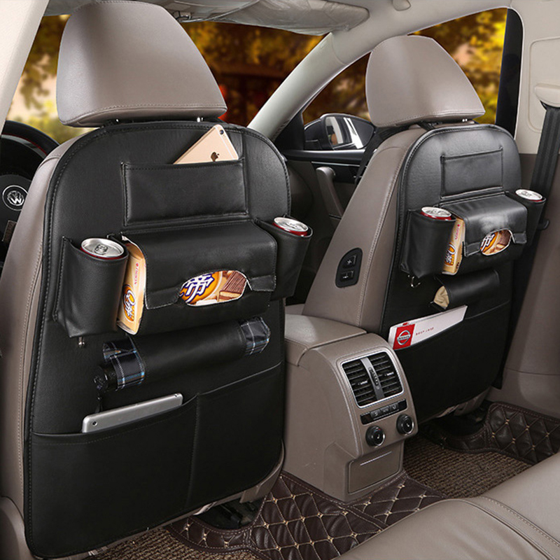 New Kick Mats Car Seat Back Protectors Backseat Organizer Kick Guard Seat Saver