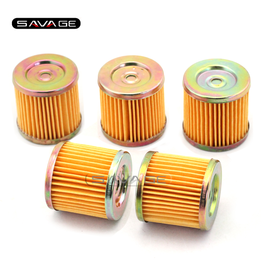 Best Price 5pcs Motorcycle Accessories Oil Filters For