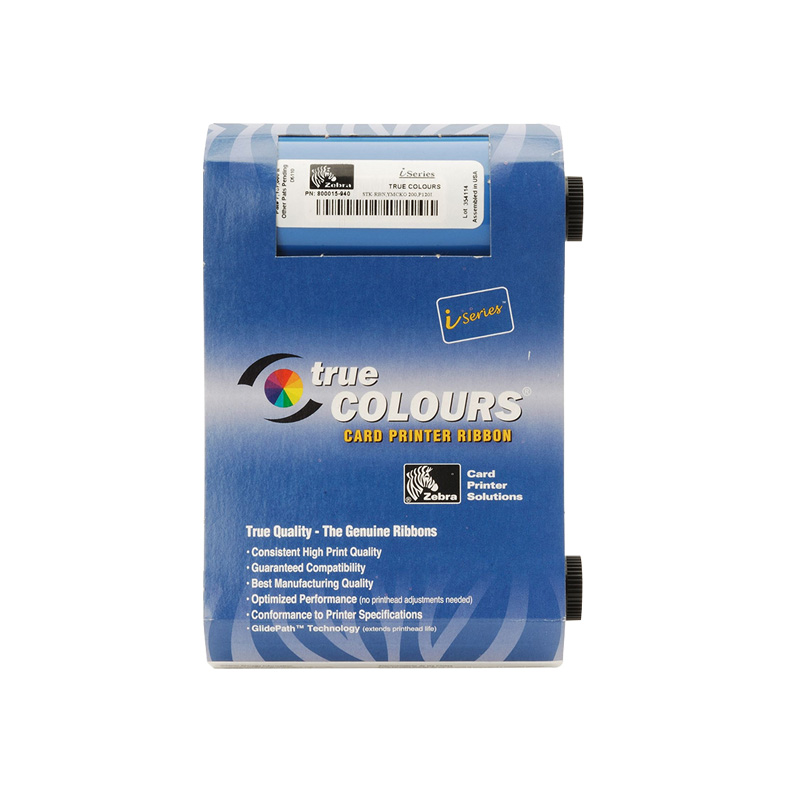Original Printer Ribbon 800015-940 Ribbon For Zebra 800015-940 Card Printer original color printer ribbon id card color ribbon used with zebra zxp series 3 printer part no 800033 340cn