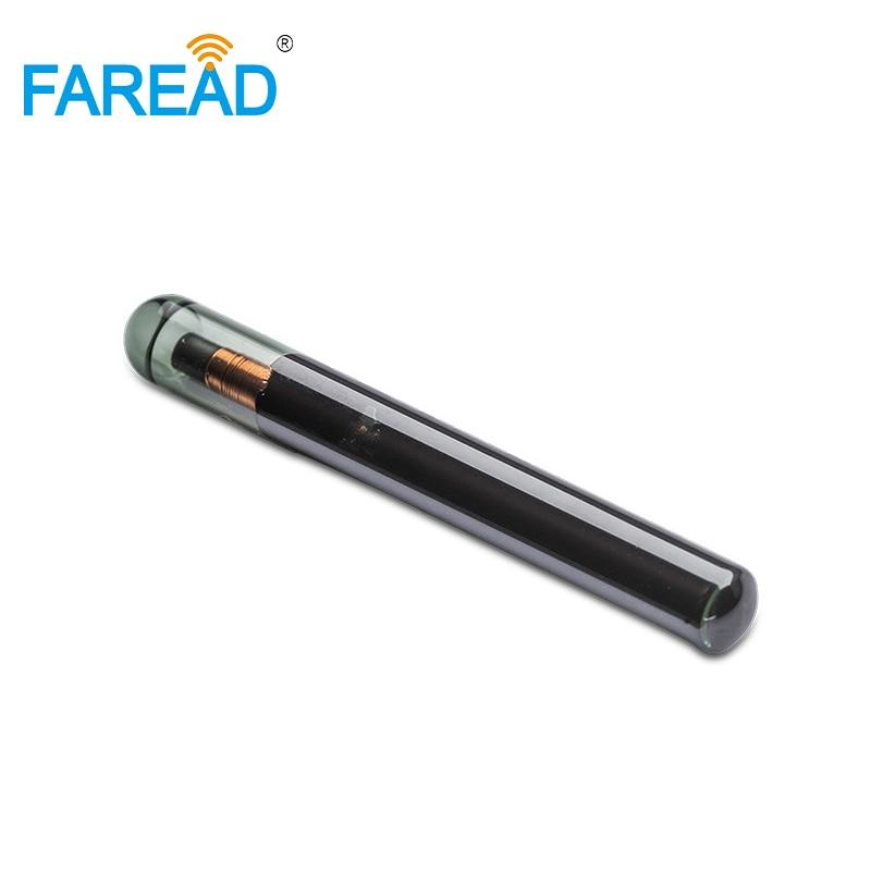 X20pcs TI HDX 125KHz 4*32mm/3.85*32mm  LF RFID Microchip Transponder For Identification