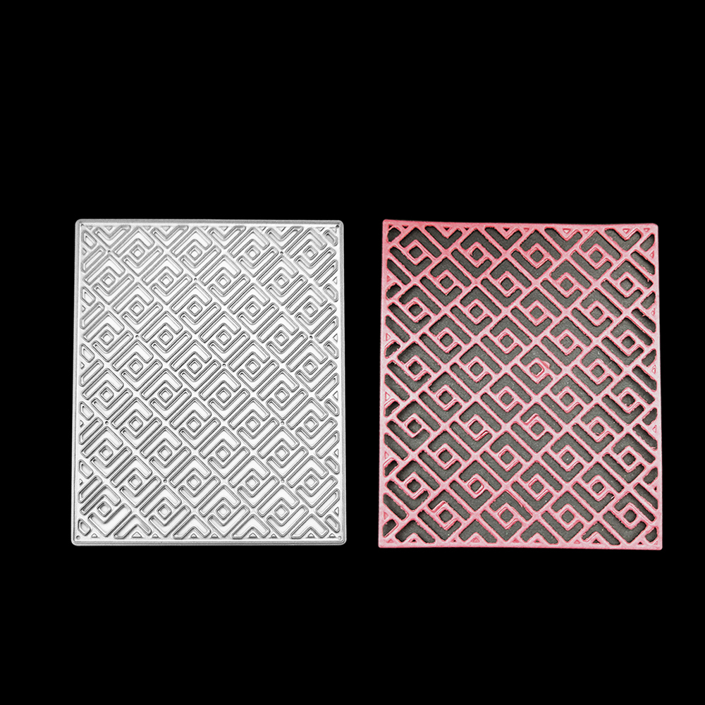 2018 New 67*81mm Grid Rectangle Frame Metal Carbon Steel Cutting Dies DIY Scrapbooking Craft Die Photo Invitation Cards Decor