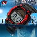 Nova Marca TTLIFE Solar Multifuncional Relógio Assistiu Relógios Do Esporte Dos Homens Ao Ar Livre À Prova D' Água Led Digital-Relógio Relógio relojes hombre