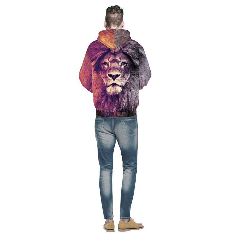 Mr.1991INC New Fashion Animal Style Sweatshirts Men/Women Pullovers Print Lion Hoodies Hooded Tracksuits Autumn Thin Tops Men/Women Pullovers Print Lion Hoodies HTB14wBZSpXXXXbBXFXXq6xXFXXX6