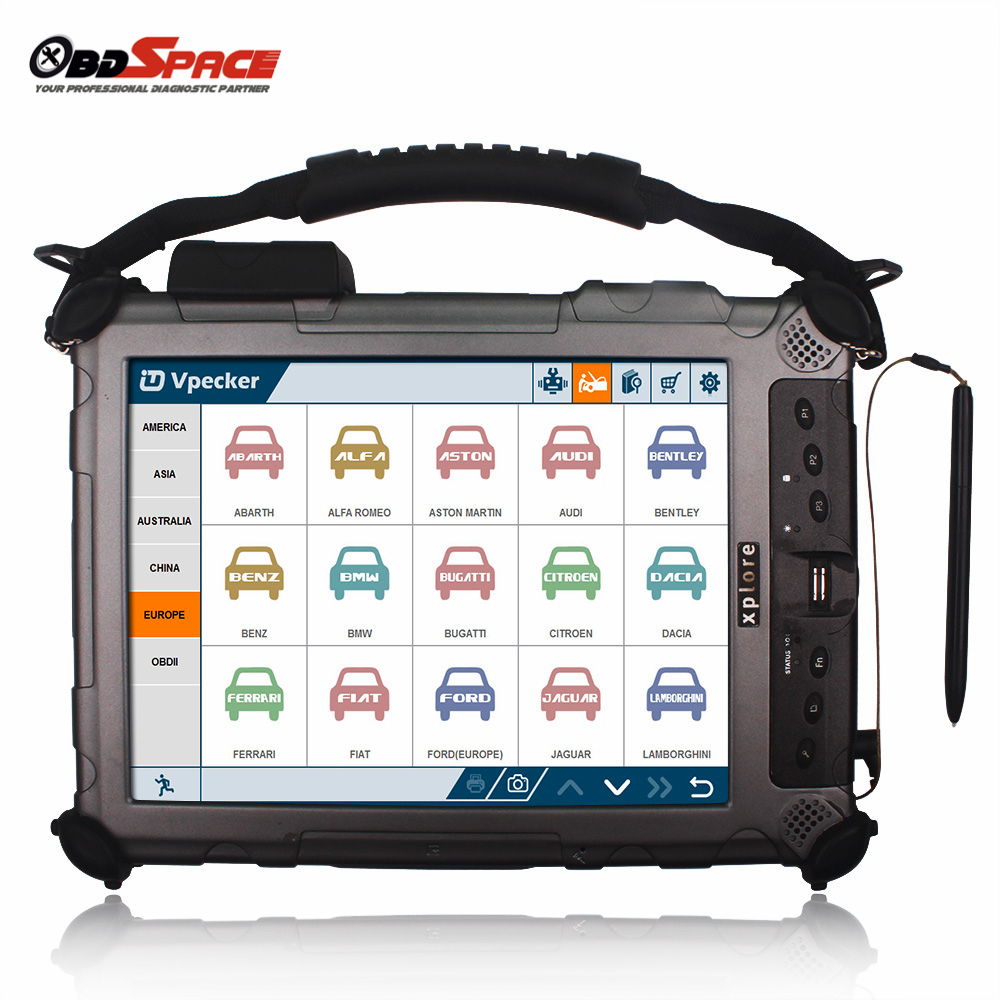 2018 Professional Automotive Diagnostic Scanner Vpecker V106 With 2006 Nissan Terrano 2 R20 Egr System Wiring Diagram Xplore Ix104 Wifi Full Systems Update Free On Alibaba Group