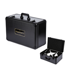 DJI Phantom 4 Outdoor Portable Aluminum Protective Carrying Hard Case with free shipping