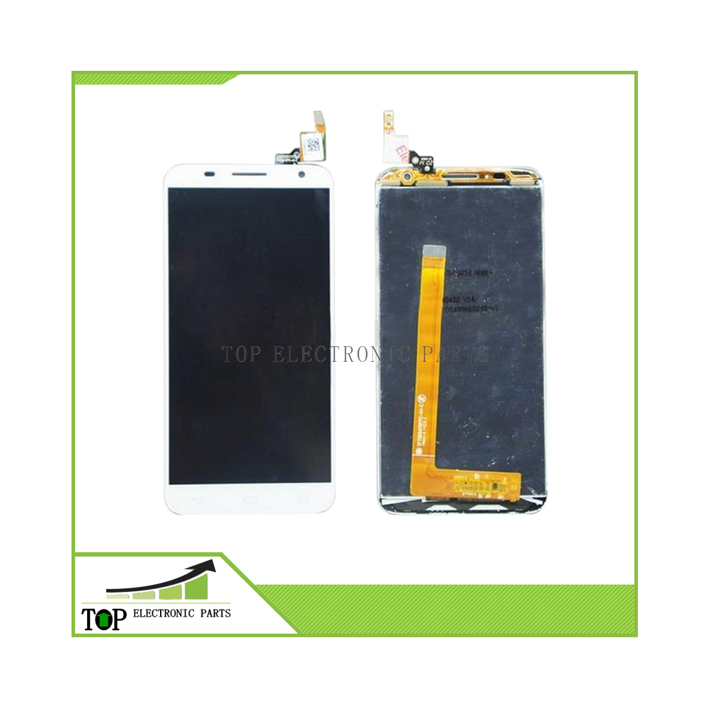 100% Original For Alcatel One Touch Idol 2 S OT6050 6050 LCD Screen with Touch Screen Digitizer Assembly