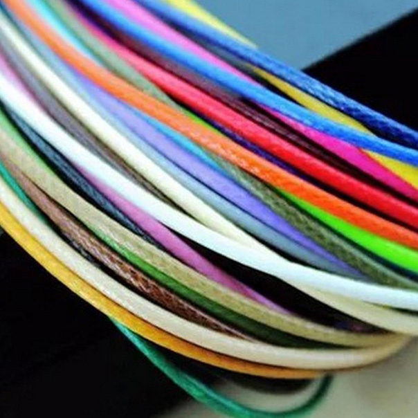 1.5mm Cords Korean Jewelry Wax Rope Braided Wire Bracelet Necklace Diy Rope 3M Jewelry Findings & Components #1094