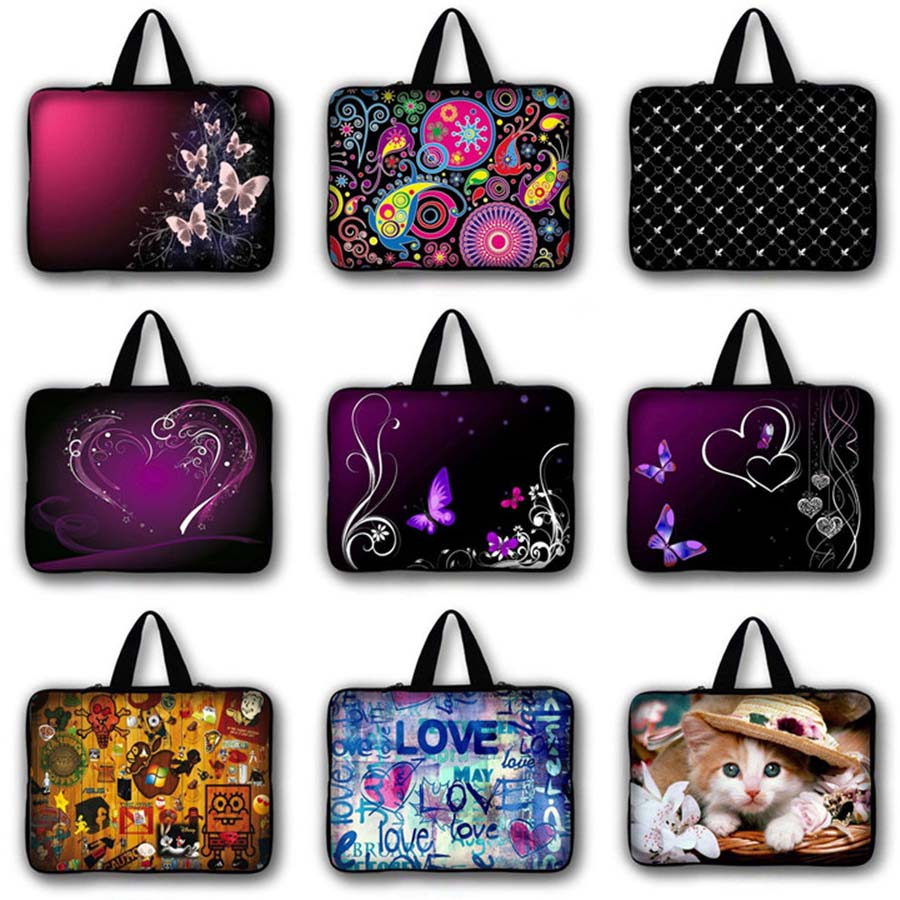 7 9.7 12 13.3 14.1 15.6 17.3 Bolsa Para Laptop tablet Caso manga Notebook tampa do computador Para macbook Air pro 13 caso retina LB-hot10