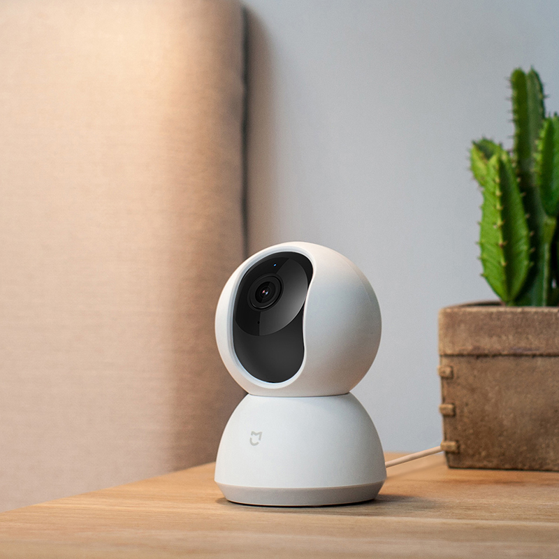 Version anglaise Xiaomi Mijia caméra intelligente berceau tête Version 1080 P 360 degrés Webcam caméra IP caméscope WIFI sans fil App contrôle - 3