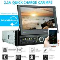 2 Din Auto Radio Bluetooth Specchio Link 2din Lettore Multimediale Touch Screen a Scomparsa MP5 Usb Audio Stereo