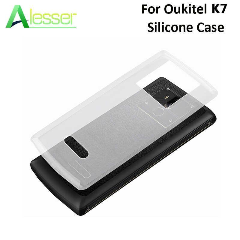 Alesser для Oukitel K7 power силиконовый чехол, мягкая задняя крышка из ТПУ, прозрачный защитный чехол для Oukitel K7, силиконовый чехол