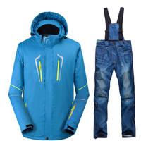 -30คนใหม่ชุดสกีตั้งกลางแจ้งสโนว์บอร์ดชุดกันน้ำWindproof