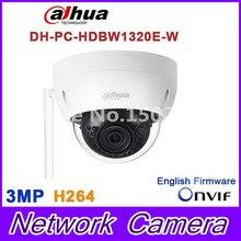 Original Dahua 3MP IPC-HDBW1320E-W dome IP Camera wifi Network IR security cctv Dome IP CCTV Camera Support wifi IPC-HDBW1320E-W
