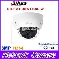Original Dahua 3MP IPC HDBW1320E W Dome IP Camera Wifi Network IR Security Cctv Dome IP