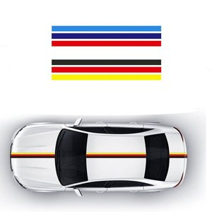 Image 1 - 1 Roll Car Sticker PVC Car The Whole Body Sticker Fire Flame Decor Vinyl Decals France Germany Italy Flag For BMW M Color