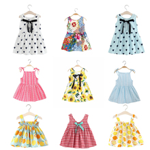 Summer Dress For Girls Kids Girl Dress Baby Dresses Princess A-Line Children New Brand Clothes Vestidos Infantil Menina цены