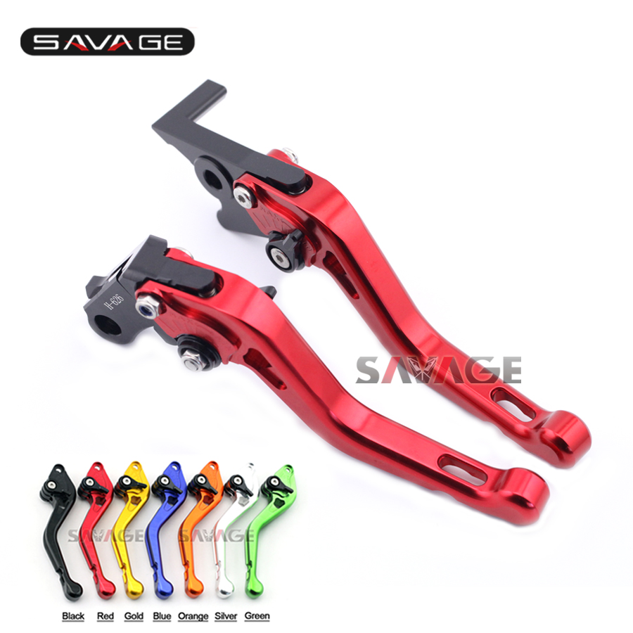 For HONDA CBR500R CB500F CB500X 2016-2017 Motorcycle Accessories CNC Aluminum Adjustable Short Brake Clutch Levers 7 colors