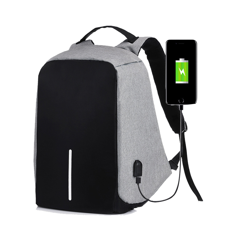 Fashion Men Anti Theft Backpack Multifunction USB Charging Backpacks Women Laptop Bagpack Travel Bag ...