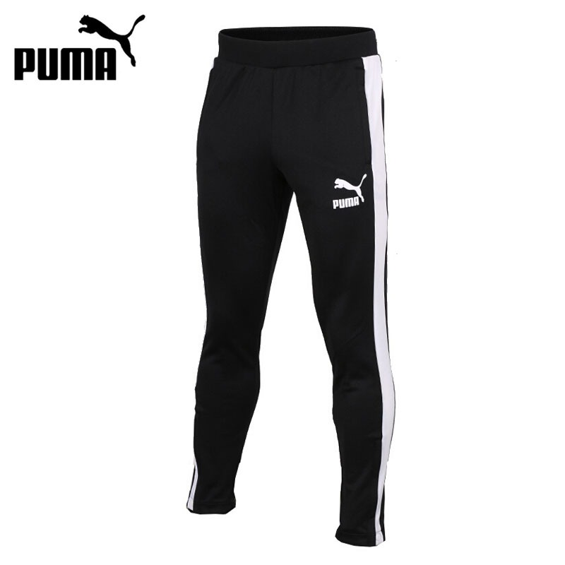 Original New Arrival 2018 PUMA T7 Vintage Track Pants Men's Pants  Sportswear original new arrival 2017 puma archive t7 track pants double knit men s pants sportswear