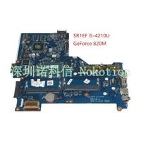 NOKOTION ZSO50 LA A992P 760970 501 760970 001 For HP 15 R 15.6 series laptop motheboard SR1EF i5 4210U NVIDIA GeForce 820M