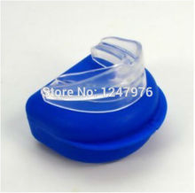 Stop Snoring Mouthpiece Anti Snore & Apnea Stopper Night Sleep Aid Solution Snoring men women care good sleep Christmas Goods