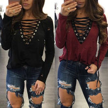 New Fashion Women Ladies Clothes Loose Long Sleeve Tops Blouse Shirts Casual Cotton Clothing