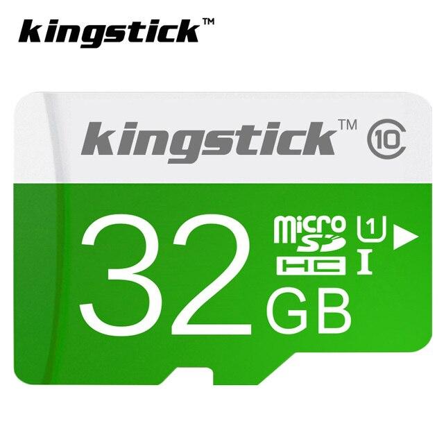Оригинал Kingstick карта micro sd 64 ГБ SDXC class 10 UHS-I U1 карты памяти SDHC 4 ГБ 8 ГБ 16 ГБ 32 ГБ TF/microsd Trans Flash Карты