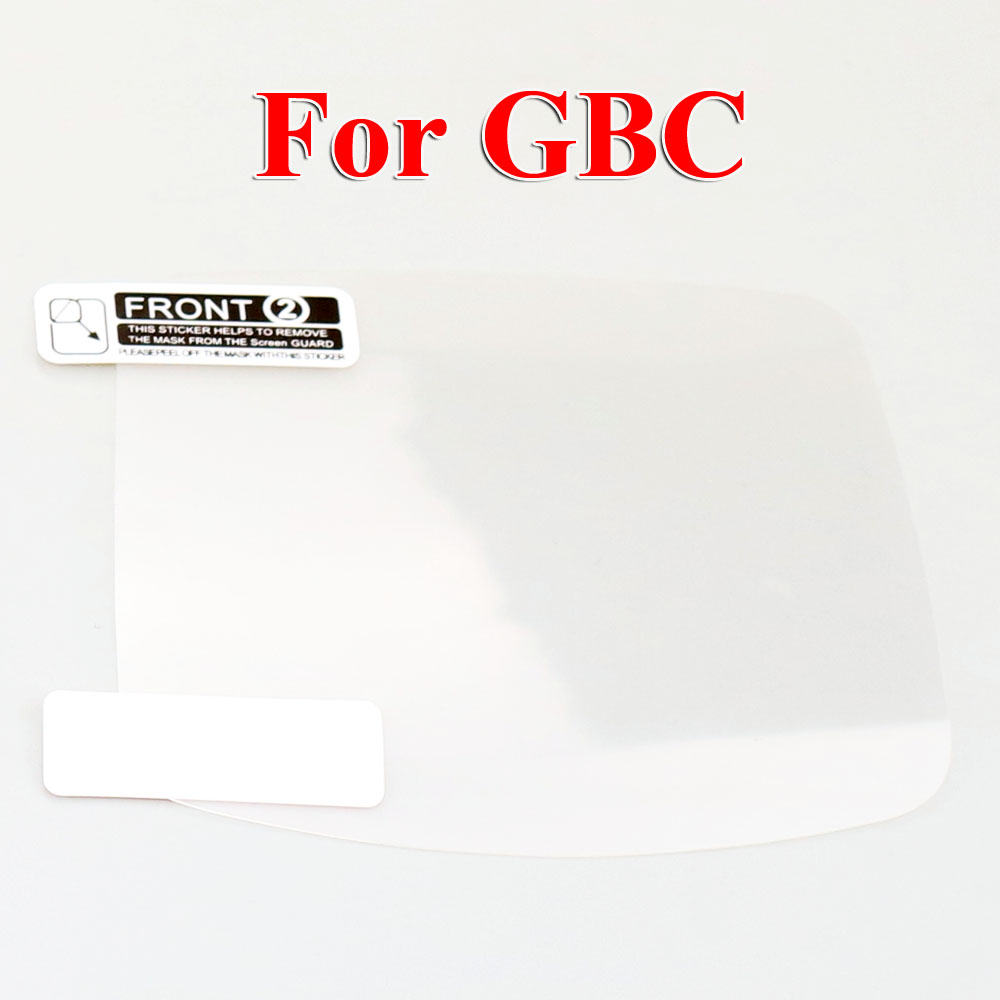 Image 4 - ChengHaoRan 120PCS mix models LCD Screen Protector Protective Film for Gameboy Color for GBA GBA SP GBC GB GBP for GBM Console-in Replacement Parts & Accessories from Consumer Electronics