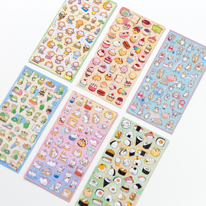 Image 4 - 20sets/1lot Kawaii Stationery Stickers Unicorn Monkey Diary Planner Decorative Mobile Stickers Scrapbooking DIY Craft Stickers