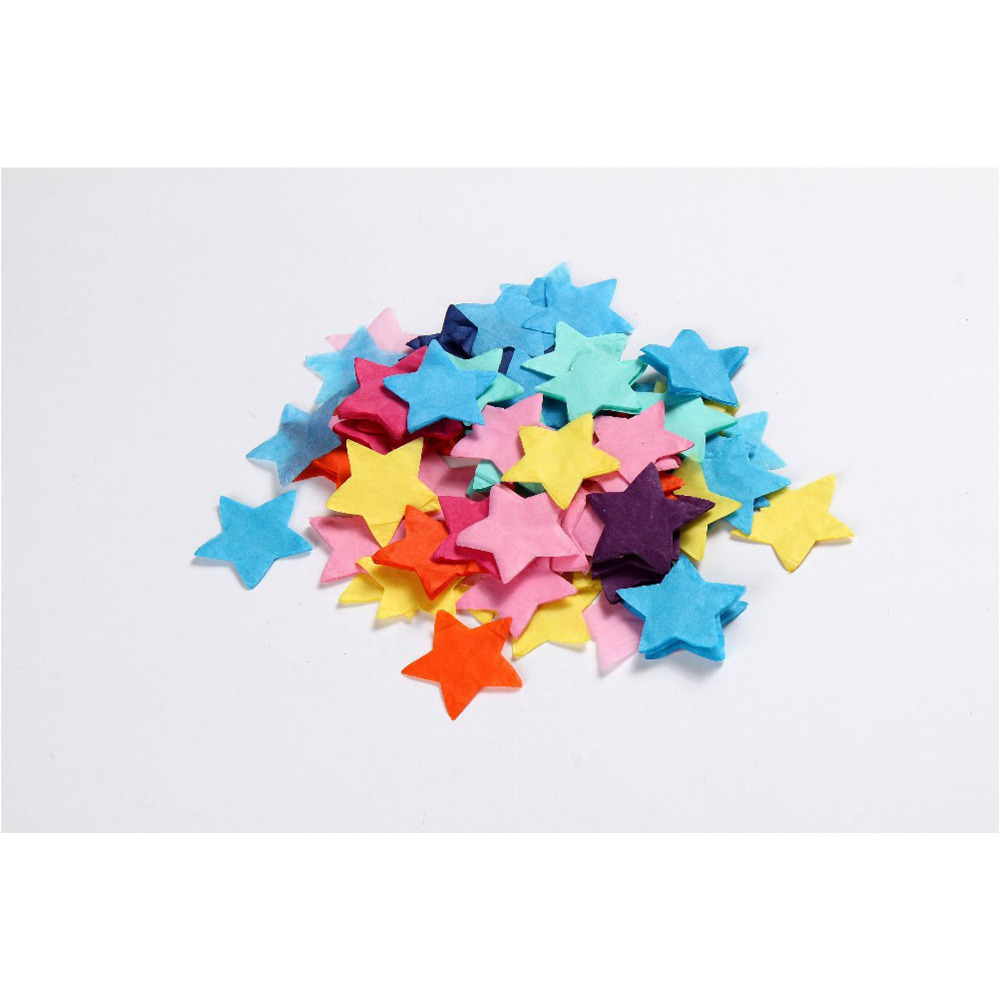 1000pcslot Star Multi Coloured Tissue Paper Rainbow Circles