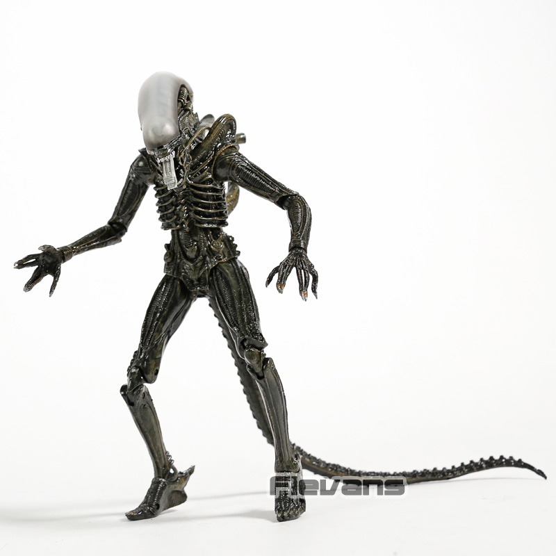Neca <font><b>1979</b></font> <font><b>Alien</b></font> Xenomorph PVC Action Figure Collectible <font><b>Aliens</b></font> Model Toy image